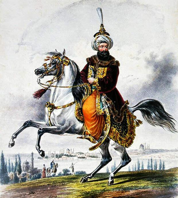 Й. Крихубер. Султан Махмуд II