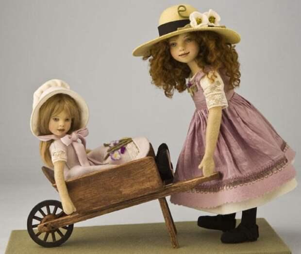 Мастерица делает невероятно милых кукол из фетра