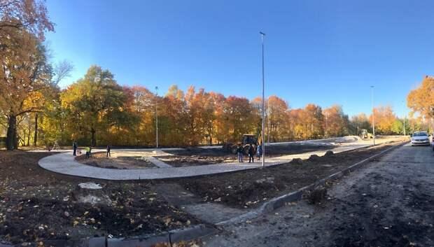 Систему видеонаблюдения установили на новом стадионе в Климовском лицее
