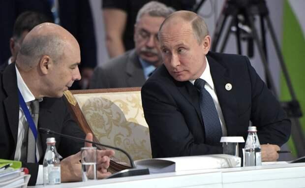Путин дал оценку поведению главы Минфина, предложившего сократить армию