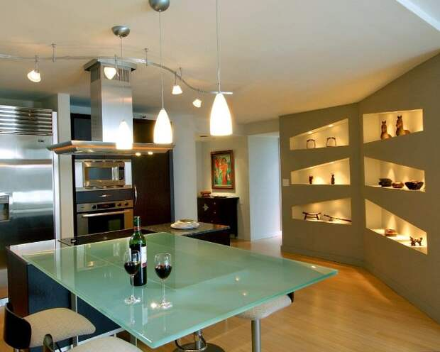 Полка на кухню: нюансы выбора многофункционального элемента обстановки (76 фото)