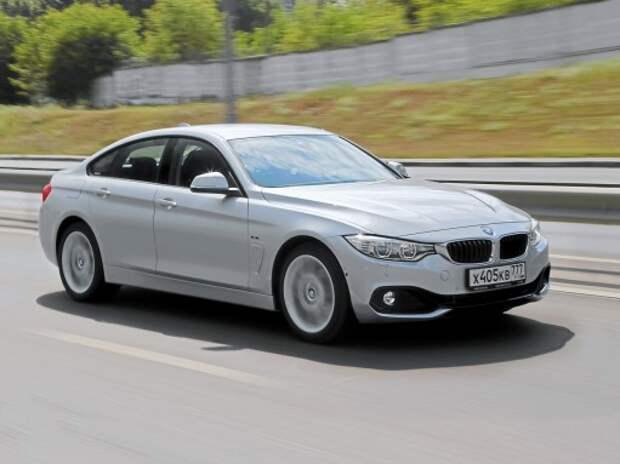 BMW 4-й серии Gran Coupe: формула купейного счастья