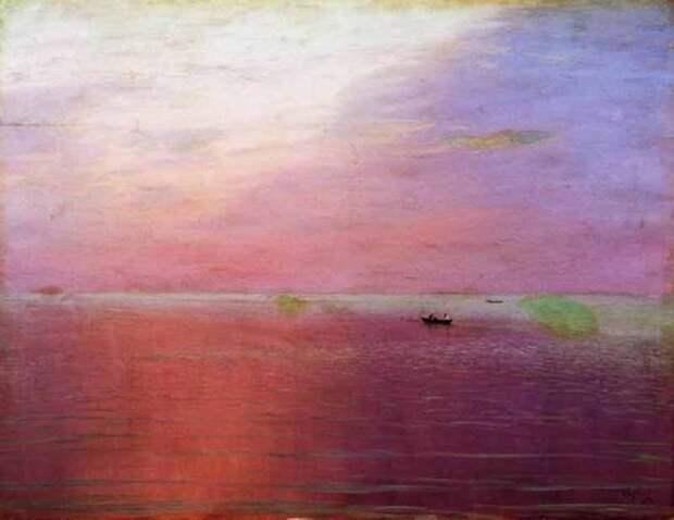 Николай Никанорович Дубовской. Тихий вечер, 1898