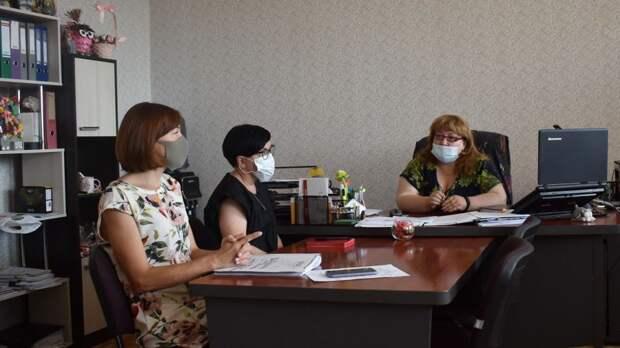 В администрации Красноперекопского района состоялось заседание комиссии по опеке и попечительству