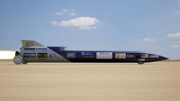 Австралийские конструкторы построили ракетомобиль мощностью 202 500 лошадиных сил