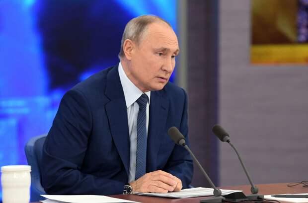 Путин заявил, что гонка вооружений уже идет полным ходом