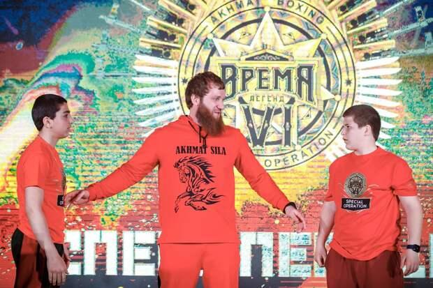 Дети Кадырова проведут бои на вечере бокса в Грозном