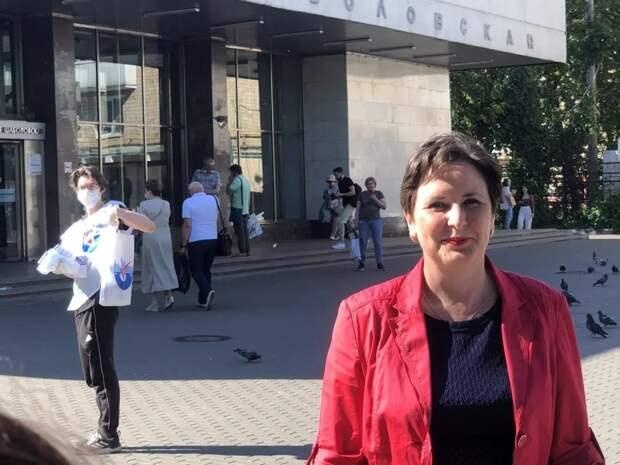 Светлана Разворотнева открыла в помощь москвичам и вакцинации «Точки добра». Фото: Екатерина Бибикова