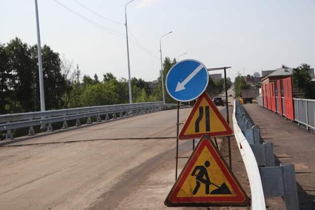 Автобусы пустили по мосту на улице Гончарова в Сарапуле
