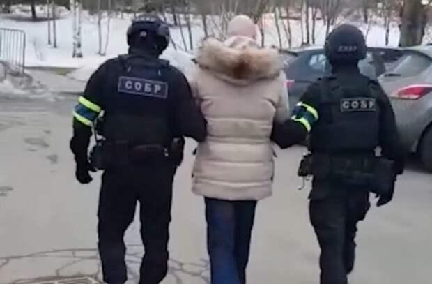 В Сети появились кадры задержания бывшего боевика из банды Басаева в Москве