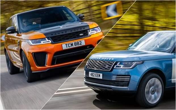 Range Rover PHEV и Range Rover Sport SVR: что общего?