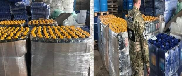 ВСУшники организовали в Донбассе цех подпольный цех по производству контрафактного алкоголя