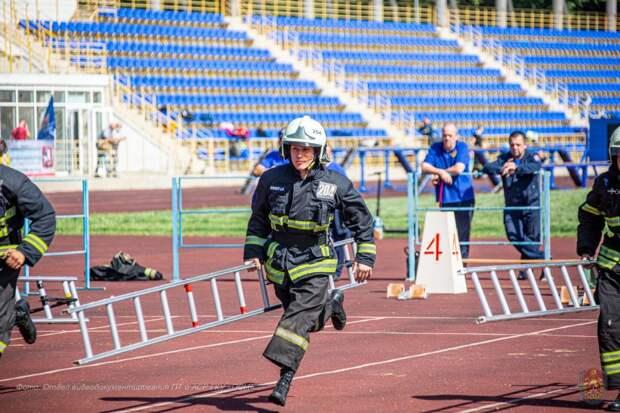Пожарный из Строгина стал лучшим в столице