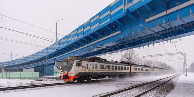 Через пути Рижского направления Московской железной дороги построят путепровод
