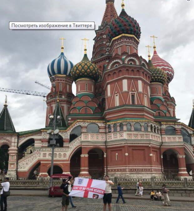 Футбольный фанат из Англии «выжил» в России и разочаровался в своих