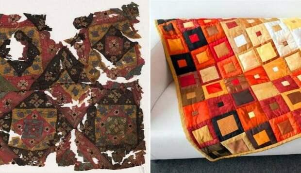 Как атрибут нищеты превратился в гламурный предмет высокого стиля: История лоскутного одеяла