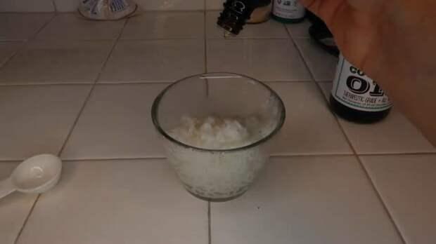 Маска из риса для идеальный кудрей