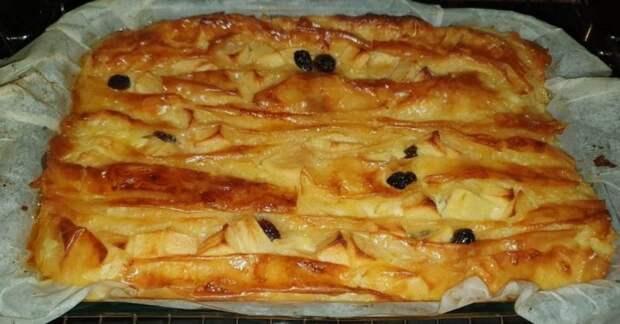 Нежный пирог «Плиссе» из теста фило: ты забудешь о других рецептах