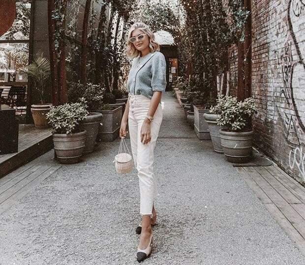 Как носить самые модные джинсы лета