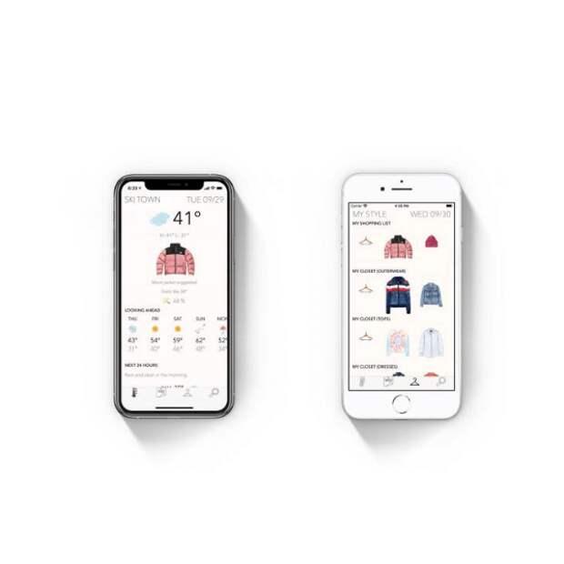 Экс-редактор американского Elle разработала приложение для выбора одежды по погоде
