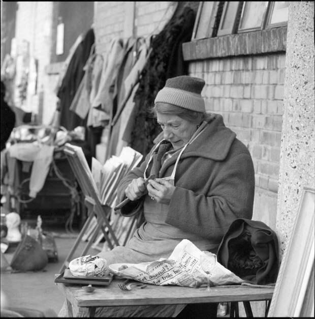 Фото Парижа, сделанные в 1952-1961 гг.