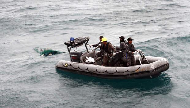 Версия крушения AirAsia: пассажиры выплывали в открытое море и тонули