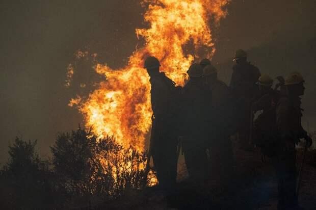 Пожары в США: к борьбе со стихией привлечено более 17 тысяч спасателей