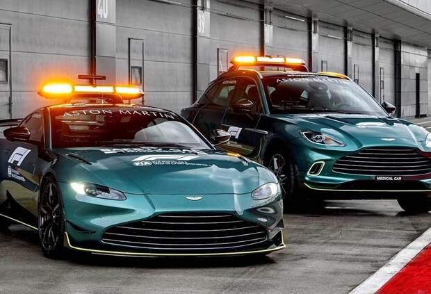 Aston Martin представила машину безопасности для Формулы 1