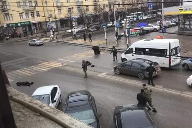 В перестрелке в центре Грозного погибли два сотрудника силовых структур