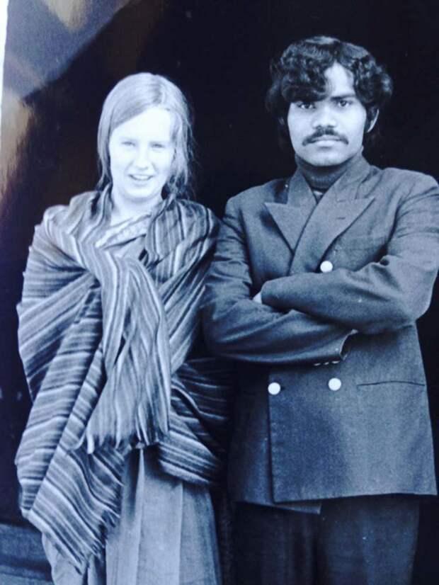 Мужчина из Индии и женщина из Швеции сошлись благодаря пророчеству в мире, индия, история, люди, отношения
