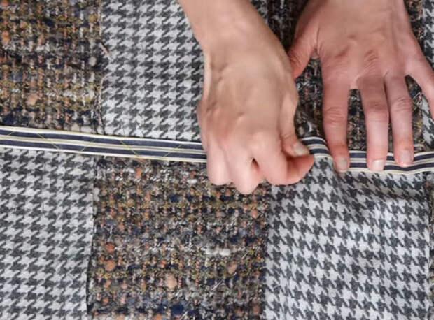 Идея разумного потребления остатков ткани: восхитительная вещь, которая прослужит вам верой и правдой не один год + мастер класс своими руками