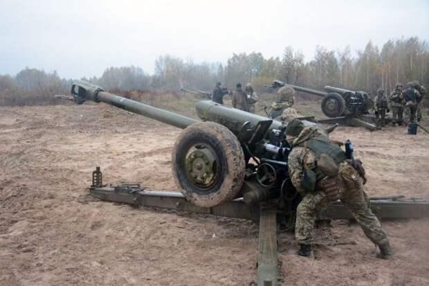 «Минские соглашения»: Киев перебрасывает в«ООС» артиллерию итанки
