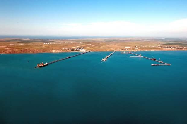 Инвестиции в инфраструктуру порта в Тамани: создано 10 000 рабочих мест