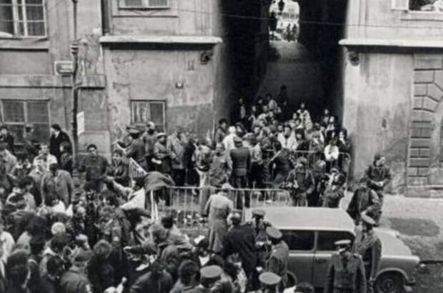 Побег из ГДР.