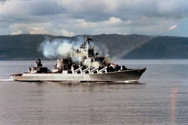 Ракетный крейсер «Маршал Устинов» — живая легенда Российского ВМФ