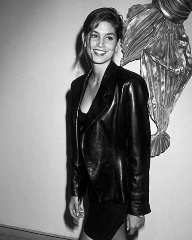 Модное вдохновение: стиль молодой Синди Кроуфорд