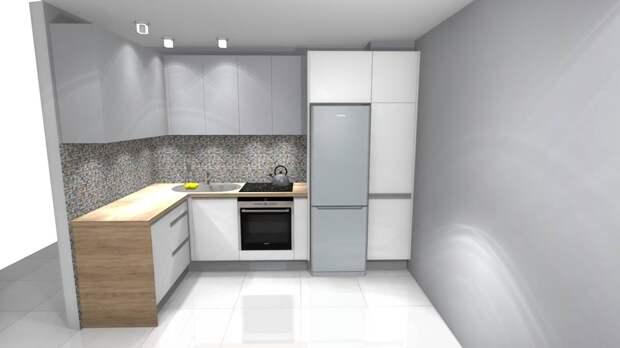 Узкая кухня в многоквартирном доме как лучше ее обустроить?