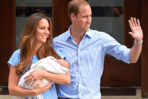 Креатив на злобу дня: британская реклама про королевского младенца