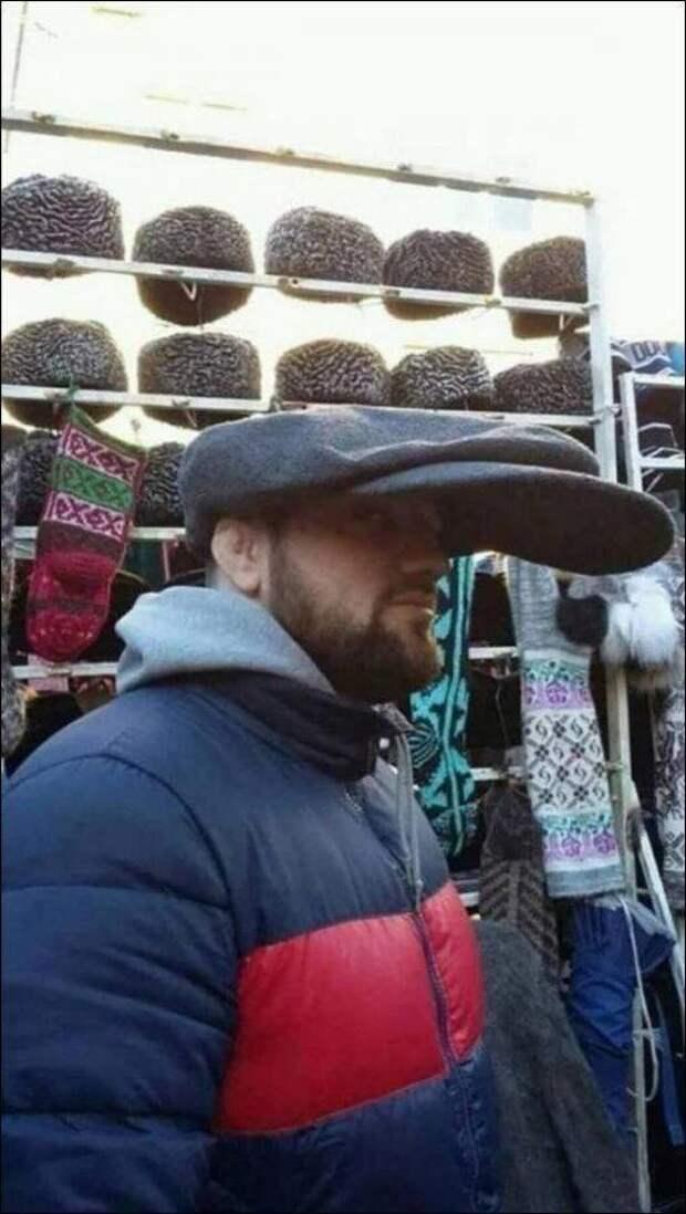 Длинный козырек кепки