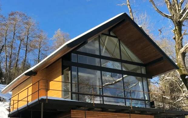 красивые проекты одноэтажных домов с террасой