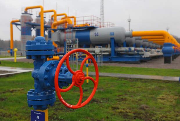 Импорт газа ФРГ Газпром