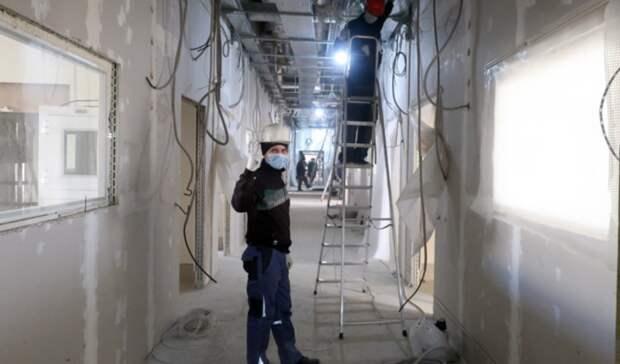 Прокуратура не нашла нарушений при удорожании стройки инфекционной больницы Ростова