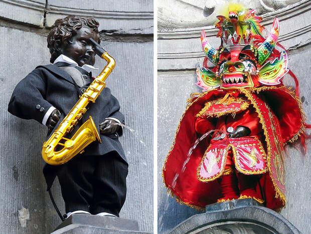 Всемирно известные статуи под другим углом