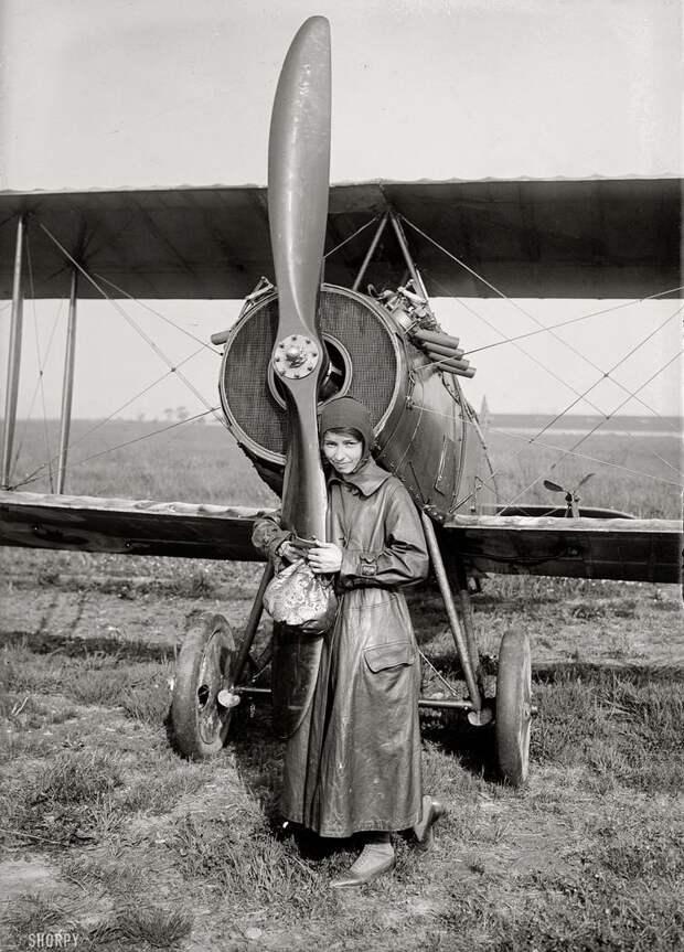 Самолеты и пилоты начала 20-го века на снимках американских фотографов (13)