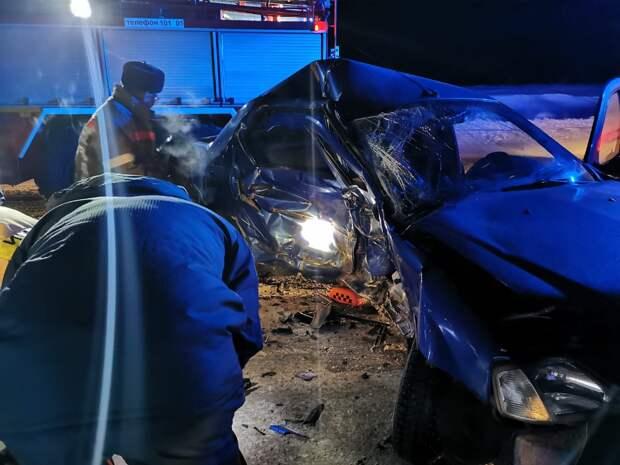 Один человек погиб и трое пострадали в аварии в Удмуртии