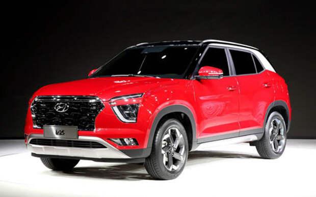 Hyundai показал новое поколение Creta