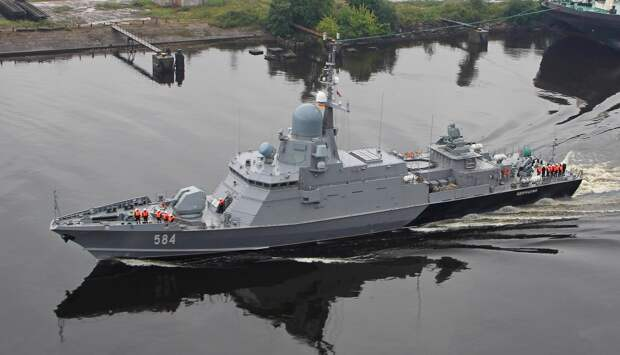 МРК «Одинцово» принят в состав Балтийского флота