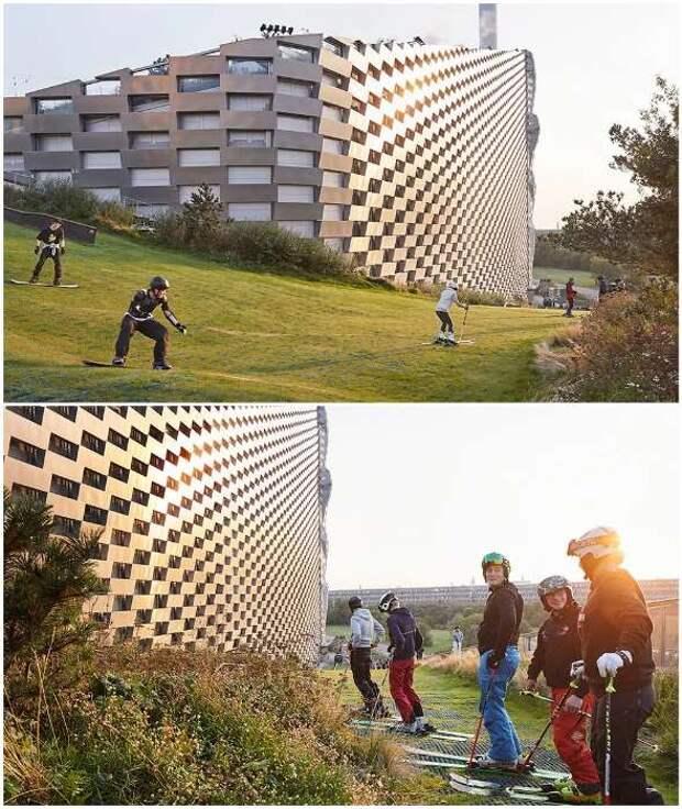 В Копенгагене мусоросжигающий завод превратили в центр активного отдыха горожан