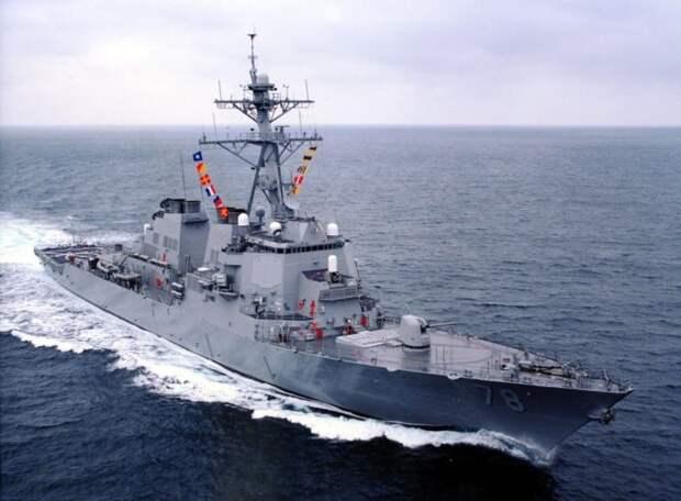 Avia.pro: в Черном море ВКС РФ пользовали эсминец ВМС США, как учебную цель