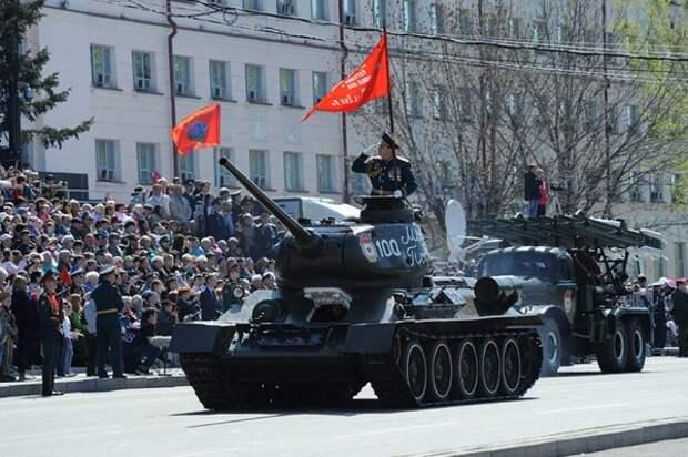 На Дальнем Востоке прошли Парады Победы